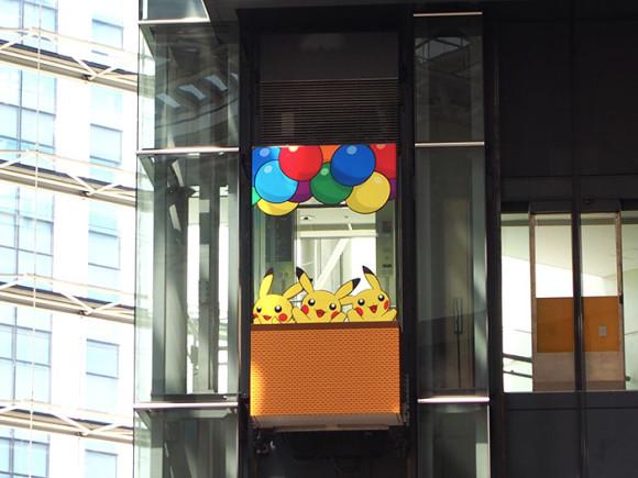 クイーンズスクエア横浜エレベーター