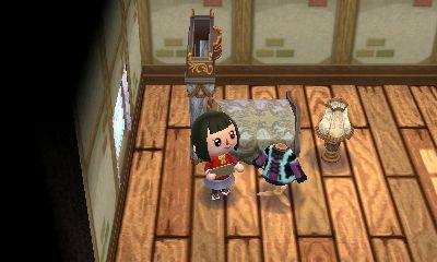 ハピ森フリル持ち込み家具