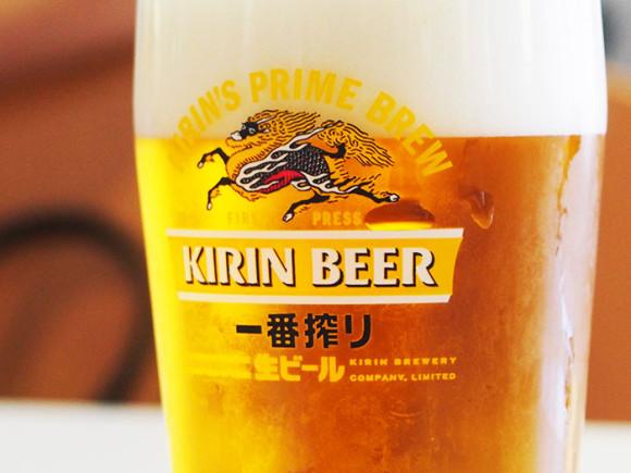 キリンビール横浜工場見学一番搾り試飲