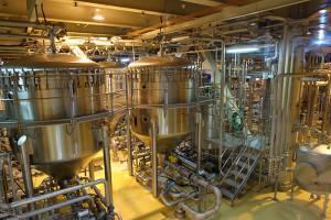 キリンビール横浜工場見学ろ過装置