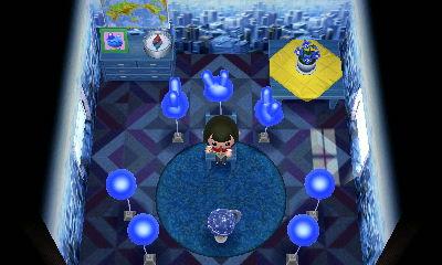 ハピ森クワトロ青色に包まれたい部屋完成