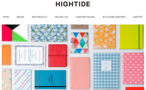 HIGHTIDE手帳2016