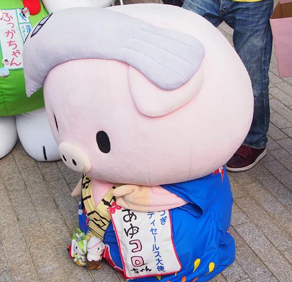 東京湾大感謝祭2015あゆコロちゃん