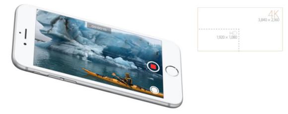 iphone6s動画4k
