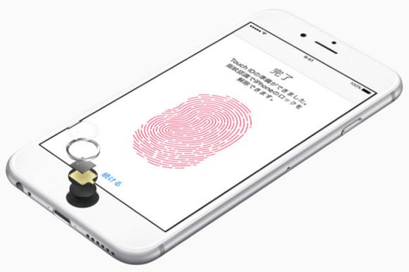 iphone6s指紋認証