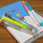 Edit手帳(エディット)カラーペン裏移り比較 ペン4選