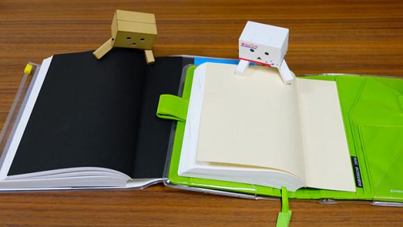 ほぼ日手帳やEDiT手帳で簡単にできる付箋の収納術!表紙の裏を使う