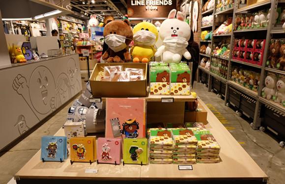LINE STORE仙台店仙台限定グッズ