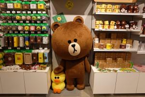 LINE STORE仙台店ブラウン&サリー