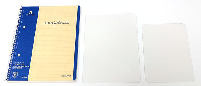 手帳に使える下敷を比較!4つの下敷きの使い心地を比べてみた