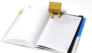 手帳ノートの下敷比較!エディット手帳