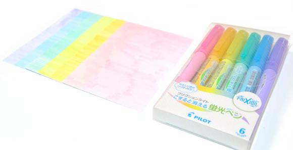 コクヨ[チビット]Tidbitをテトリスにしてみた蛍光ペンで塗る