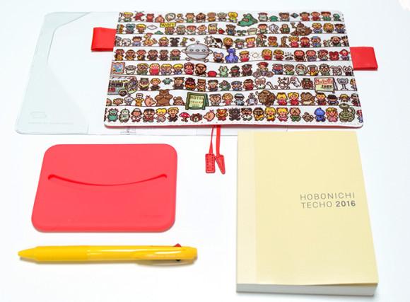 ほぼ日手帳2016!MOTHER2のキャラクター勢ぞろいの「CAST」ほぼ日ストア特典