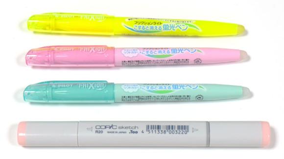 四大油性ボールペンの書き心地を比較してみたカラーペン登場