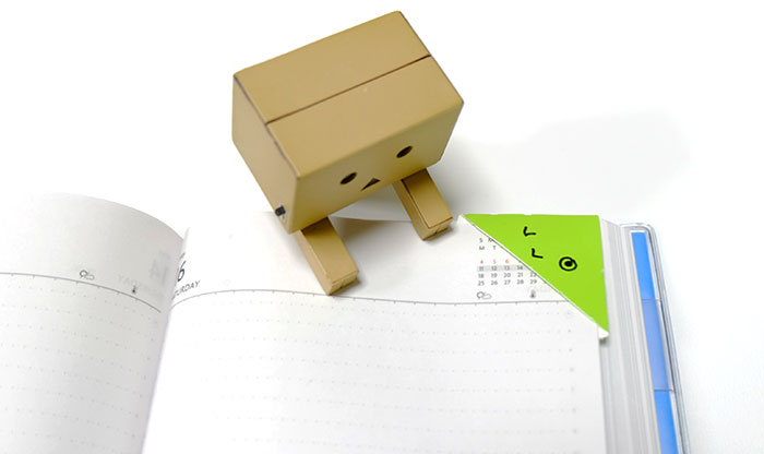 紙素材の新感覚クリップ「DELP」(デルプ)を使ってみた!しおりに便利