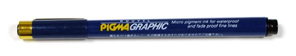 グラフィックペンの書き心地・裏移り比較!ピグマグラフィック