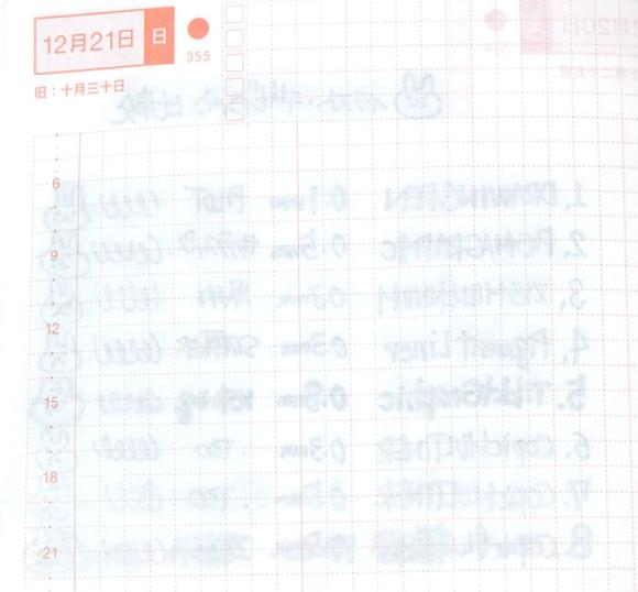 ほぼ日手帳とペンの相性比較!イラスト・グラフィック・デザインペン比較