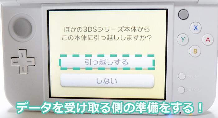 ニンテンドー3DS(3DSLL)からNewニンテンドー3DS(New3DSLL)への引っ越しするよ!受け取る側も準備