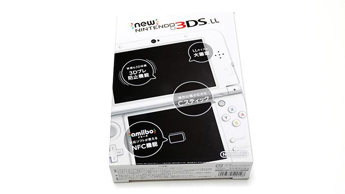 Newニンテンドー3DSLLを買った!購入レポート!箱