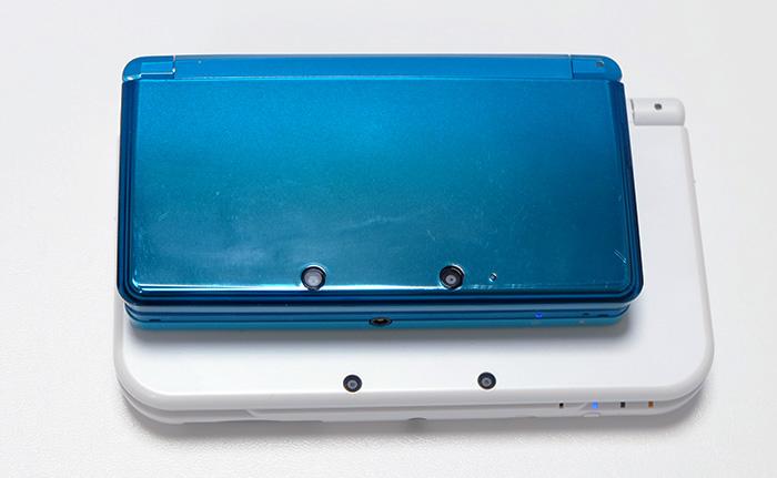 Newニンテンドー3DSLLを買った!購入レポート!3DS大きさ比較