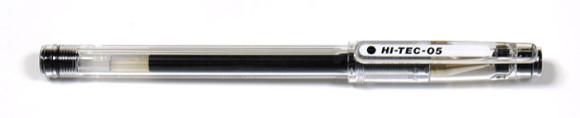 水性ボールペンの書き心地・裏移り比較!ハイテックC