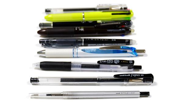 水性ボールペンの書き心地・裏移り比較!