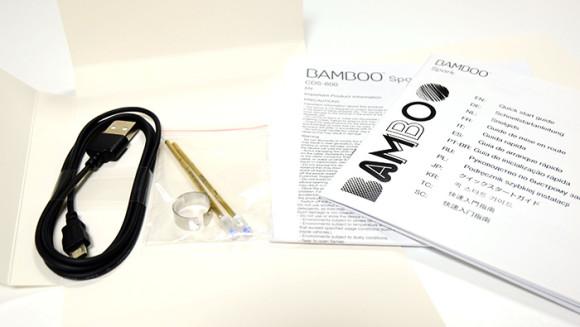 ワコム(wacom)「Bamboo Spark」マニュアル