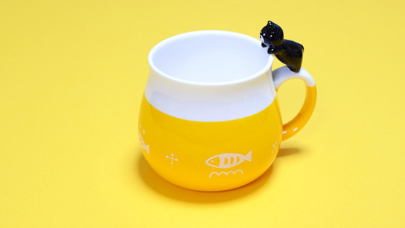 可愛い猫のマグカップ「デコレニャコット」が可愛い