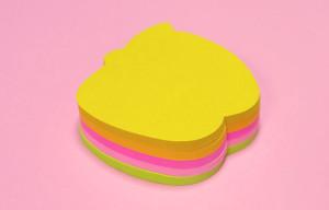 りんごの形の可愛い付箋ポスト・イットの「ノート アップル」