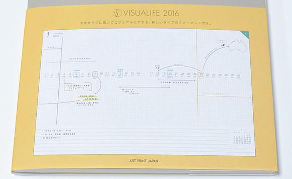 新フォーマットの手帳 VISUALIFE(ビジュアライフ)使い方