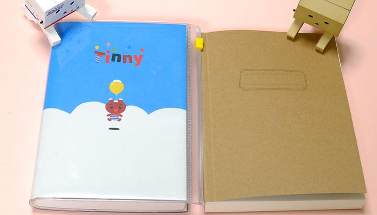 セリアの「368ノート」EDiT手帳と比較 大きさ