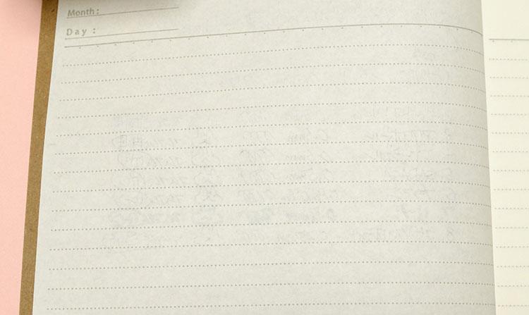 セリアの「368ノート」色んなペンで裏移りチェック