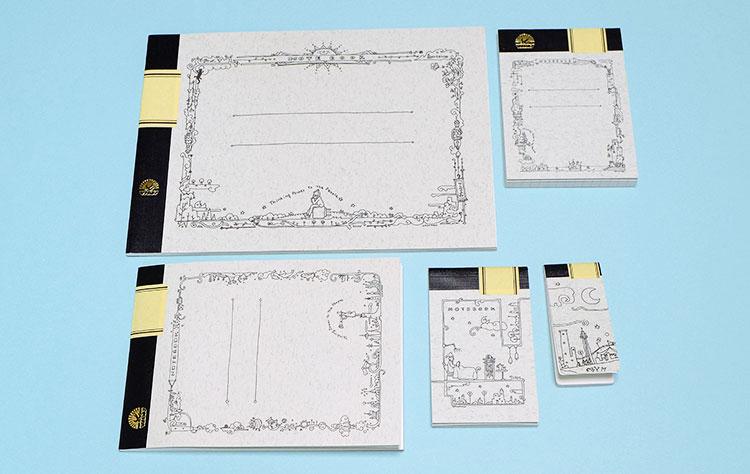 Thinking Power Notebook B6、A7、A6ハーフ、名刺、ミント
