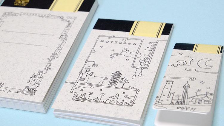 Thinking Power Notebook 一番小さいのはミントサイズ