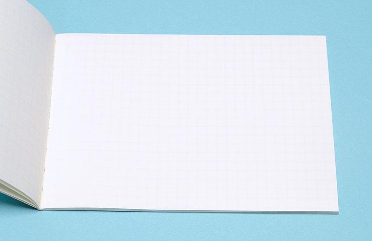 Thinking Power Notebook 水性インク使用の薄色5mm方眼