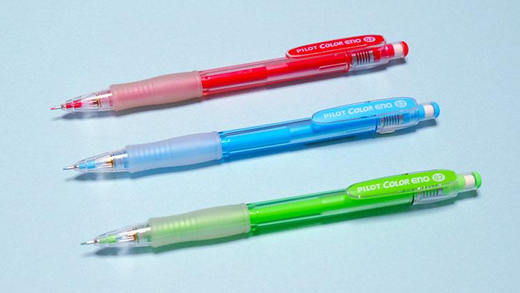 便利に使えるpilotのカラーシャープペン「シャープカラーイーノ」おすすめ3色