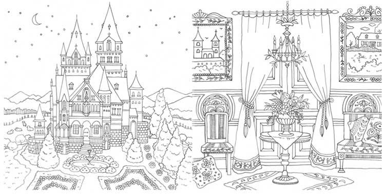 Romantic Country ロマンティック・カントリー 美しい城が佇む国