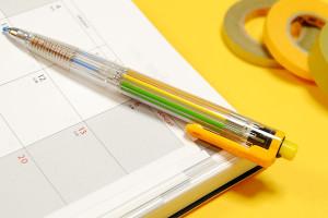 1本で8色描けるシャープペン「ぺんてるマルチ8」