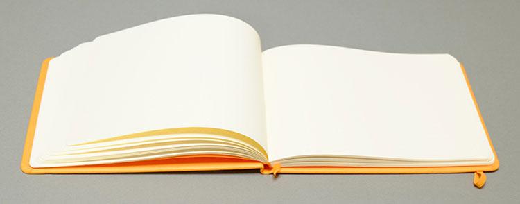RHODIA(ロディア)ウェブノートブックのランドスケープがオシャレワイドに書ける