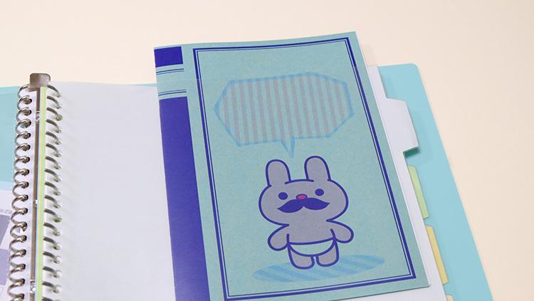 キングジム「透明インデックスポケット」ファイルとして使える