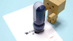 個人情報保護スタンプ!シヤチハタの「ケスペタ」