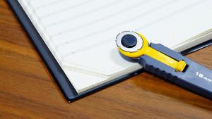 簡単手帳アレンジ!手帳の右下にミシン目を作ろう
