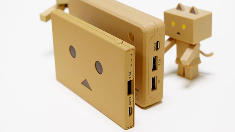 コンパクトで大容量のモバイルバッテリー!新旧ダンボーバッテリー比較