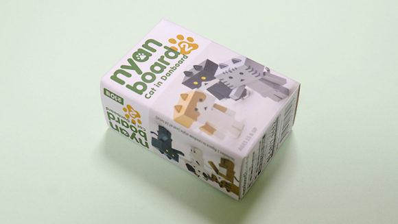 ネコ耳とシッポがついた「にゃんぼー」フィギュアを買ったよ!