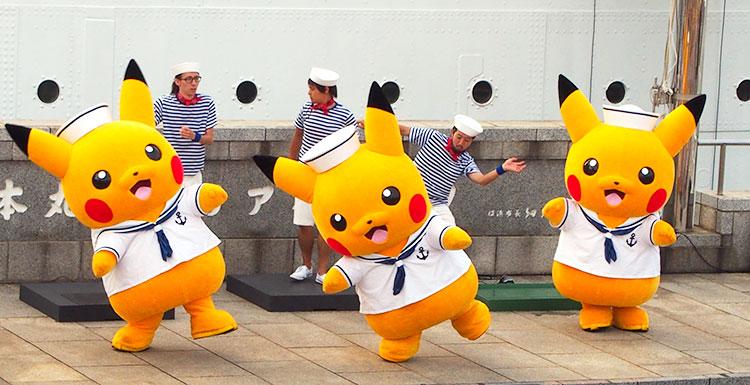 帆船日本丸・日本丸メモリアルパーク「ストンプショー」