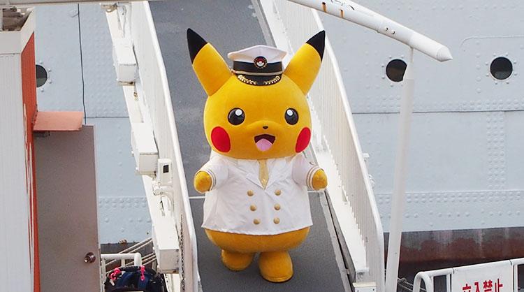 帆船日本丸・日本丸メモリアルパーク「ストンプショー」船長