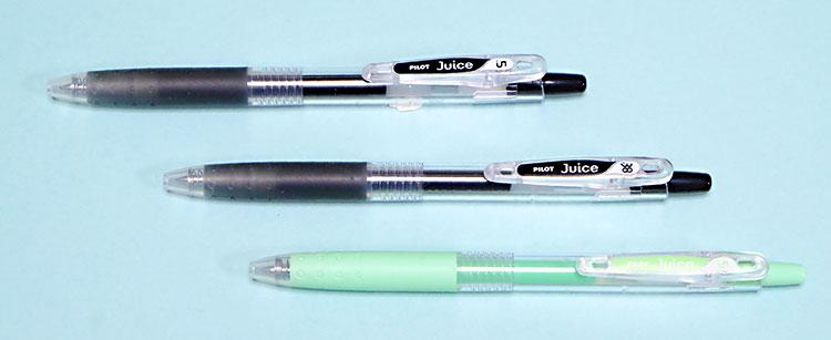 PILOT滑らかな書き味のゲルインキボールペン「juice(ジュース)」