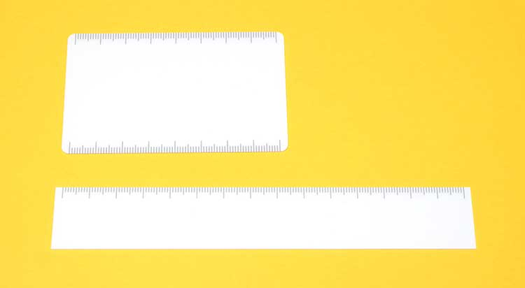 自分だけの定規が作れる共栄プラスチックの「作れる定規」