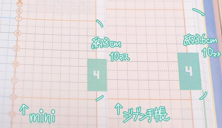 コクヨジブン手帳2017mini(ミニ)