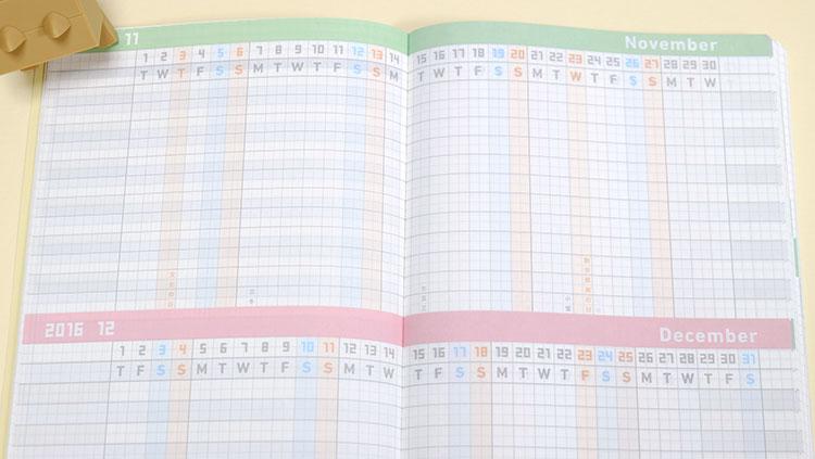 ジブン手帳 2017「ファーストキット」DIARY、LIFE、IDEA